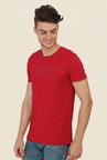 Calvin Klein Red Graphic Print T-Shirt