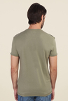 Calvin Klein Olive Printed T Shirt