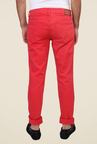 Calvin Klein Coral Solid Jeans