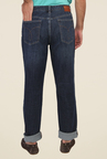 Calvin Klein Blue Lightly Washed Solid Jeans