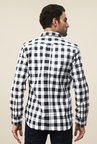 FCUK Black Checks Shirt