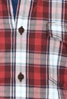 Basics Maroon Checks Shirt