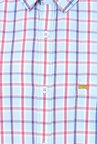 Basics Aqua Checks Shirt