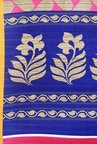 Shonaya Pink & Blue Art Silk Saree