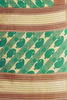 Shonaya Green & Beige Bhagalpuri Art Silk Printed Saree