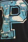 Family Guy The Big Peter Griffin Black Graphic T-shirt