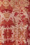 Global Desi Orange Marah Floral Print Top