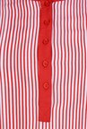 Juniper Red Striped Kurta