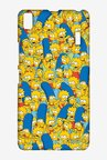 Simpsons Pattern Case for Lenovo A7000
