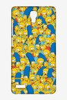 Simpsons Pattern Case for Xiaomi Redmi Note 4G