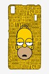 Simpsons Homer Says Case for Lenovo A7000