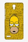 Simpsons Homer Says Case for Xiaomi Redmi Note 4G