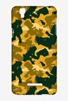 Simpsons Camo Bart Case for Yu Yureka Plus