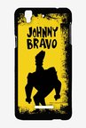 Johnny Bravo Yellow Grunge Case for Yu Yureka