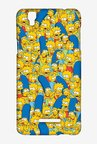 Simpsons Pattern Case for Yu Yureka