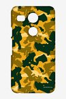 Simpsons Camo Bart Case for LG Nexus 5X