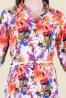 Hotberries Multicolor Printed Dress