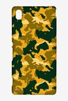 Simpsons Camo Bart Case for Sony Xperia M4