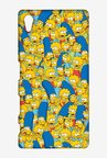 Simpsons Pattern Case for Sony Xperia Z5