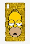 Simpsons Homer Says Case for Sony Xperia Z5