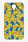 Simpsons Pattern Case for Samsung S4