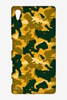 Simpsons Camo Bart Case for Sony Xperia Z5