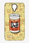 Simpsons Duff Beer Case for Samsung S4