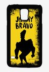 Johnny Bravo Yellow Grunge Case for Samsung S5