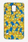 Simpsons Pattern Case for Samsung S5