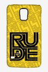 Simpsons Rude Case for Samsung S5