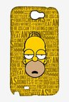 Simpsons Homer Says Case for Samsung Note 2