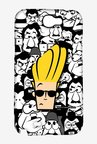 Johnny Bravo Doodle Case for Samsung Note 2