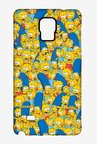 Simpsons Pattern Case for Samsung Note 4