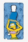 Simpsons Marge Hawaii Case for Samsung Note 4