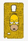 Simpsons Homer Says Case for Samsung Note 4