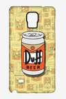 Simpsons Duff Beer Case for Samsung Note 4