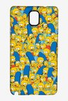 Simpsons Pattern Case for Samsung Note 3