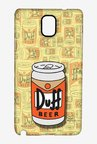 Simpsons Duff Beer Case for Samsung Note 3