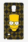 Simpsons Bartface Case for Samsung Note 4