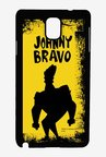 Johnny Bravo Yellow Grunge Case for Samsung Note 3