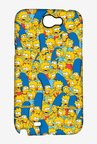Simpsons Pattern Case for Samsung Note 2