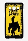Johnny Bravo Yellow Grunge Case for Samsung Galaxy A7