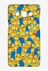 Simpsons Pattern Case for Samsung Galaxy A7