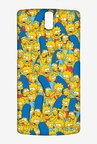 Simpsons Pattern Case for Oneplus One