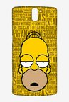 Simpsons Homer Says Case for Oneplus One