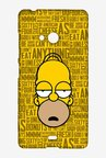 Simpsons Homer Says Case for Microsoft Lumia 540