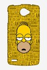 Simpsons Homer Says Case for Lenovo S920