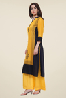 Shree Yellow Printed Kurti