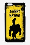 Johnny Bravo Yellow Grunge Case for iPhone 6 Plus