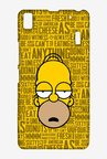 Simpsons Homer Says Case for Lenovo K3 Note